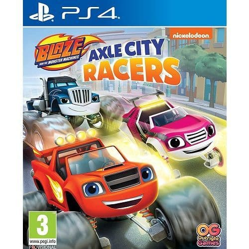 Blaze and The Monster Machines Axle City Racers PS4 Game